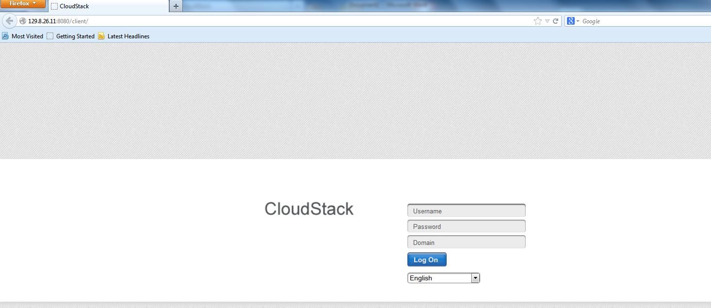 How to Create a CloudStack Instanc-step-1