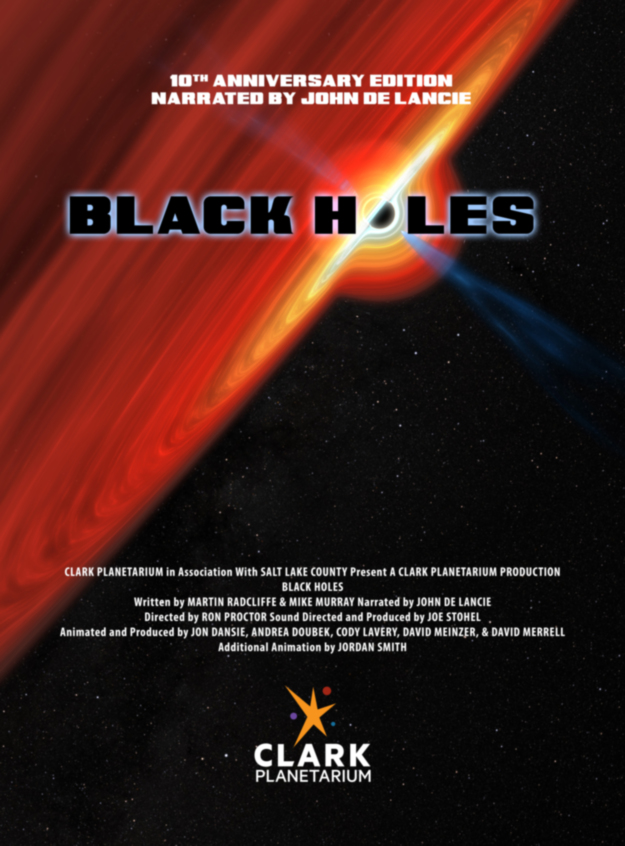 Black holes poster