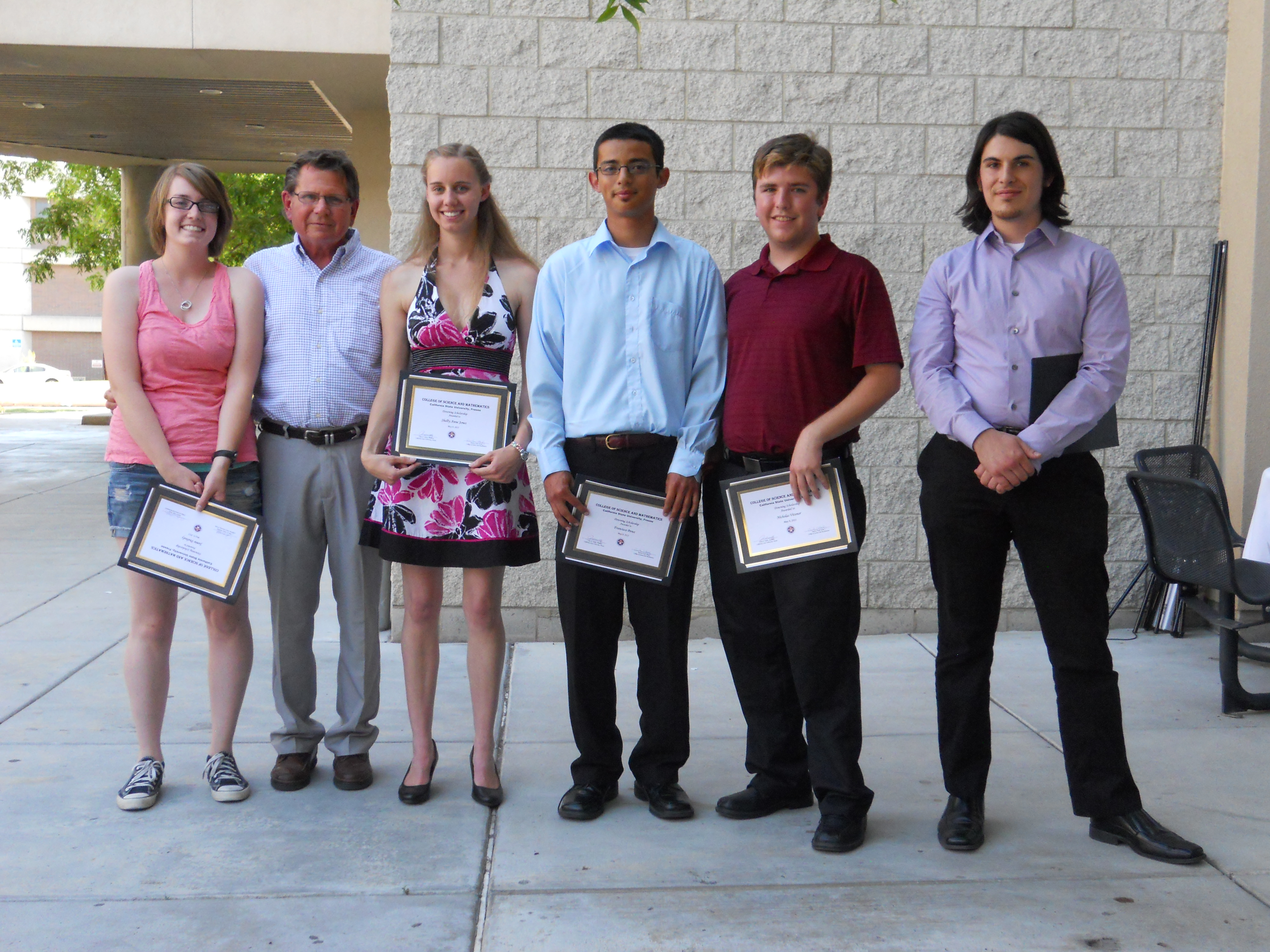 2012 F. Harold Downing Scholarship Recipients