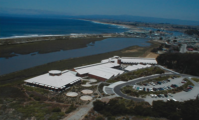 Moss Landing Marine Laboratory from the Air
