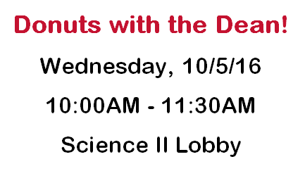 Donuts with the Dean 2016