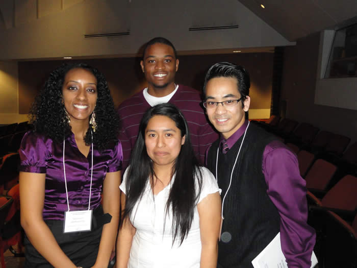 LSAMP students attending the Central Calif. Research Symposium April 2011